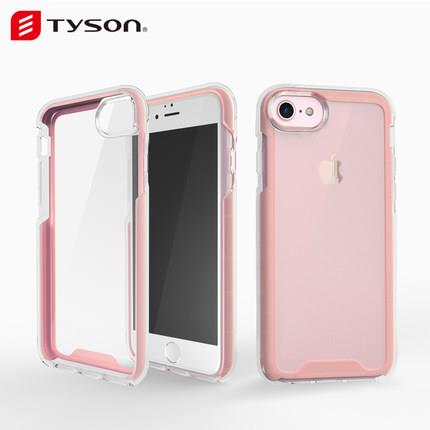 Multicolor Transparent Soft Silicone Casing Case Cover iPhone 6/6S/7