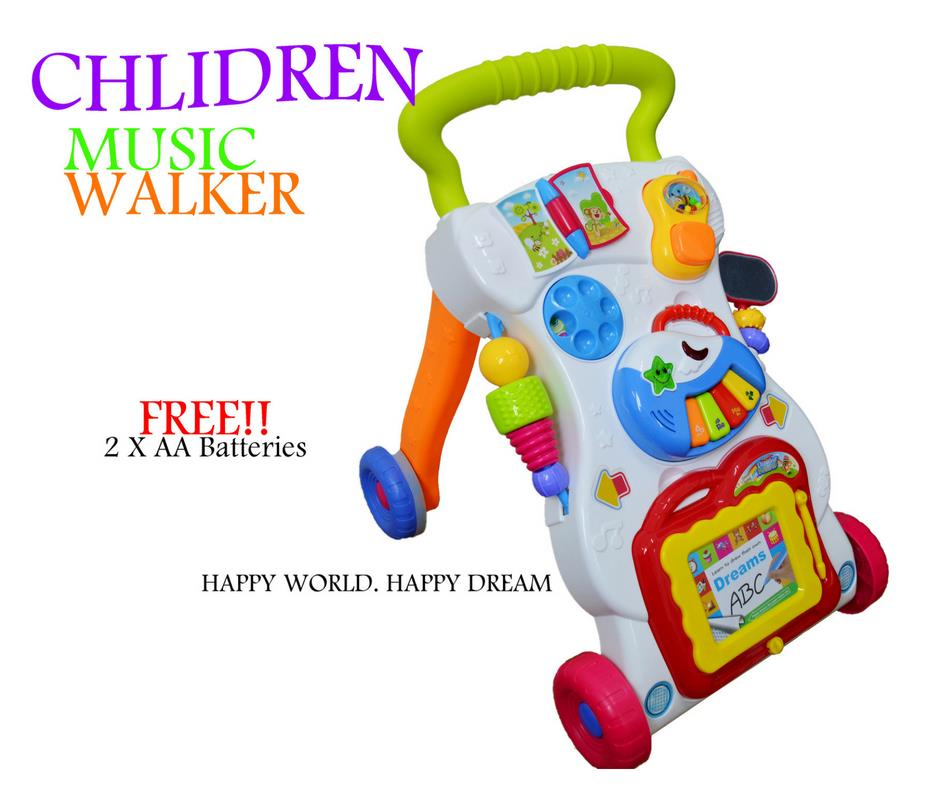 Multifunction Baby Walker With Music/Educational Toys