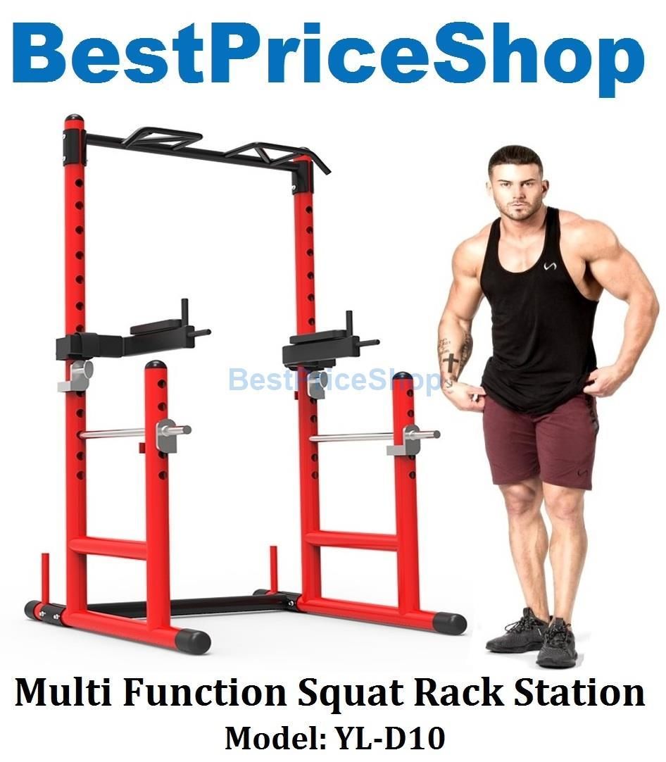 Multifunction Half Cage Smith Machine Squat Rack Chin Up Dip YL-D10