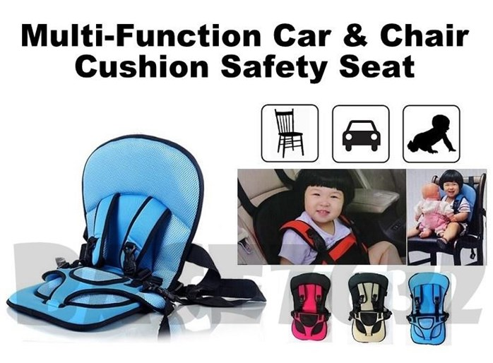 Multifunction Car Cushion Red