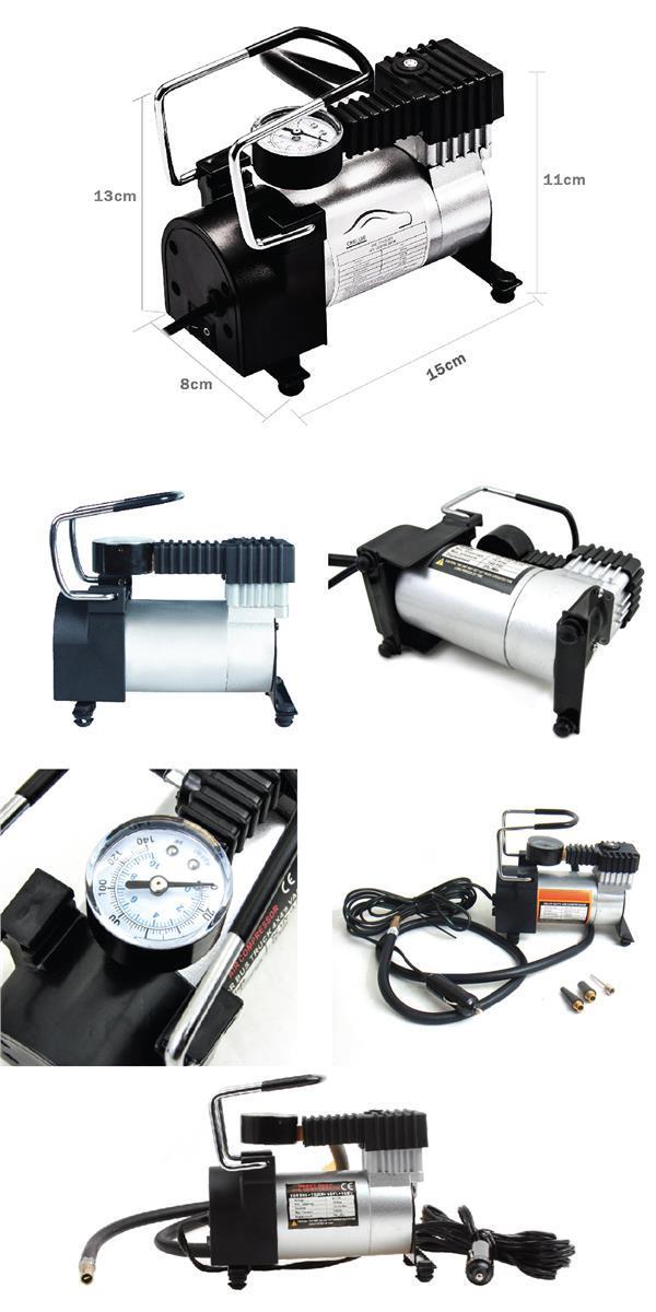 Multifunction Heavy Duty Air Compressor 140PSI 12V