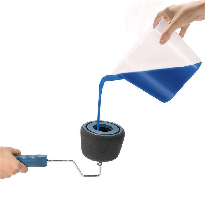Mytools Paint Roller Clever Paintbrush Runner Pro Brush Set Flocked Edger  Wall Painting Kit