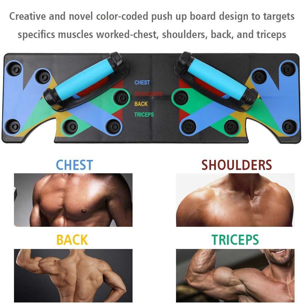 Multifunction Push Up Rack Board 9 System Comprehensive Fitness
