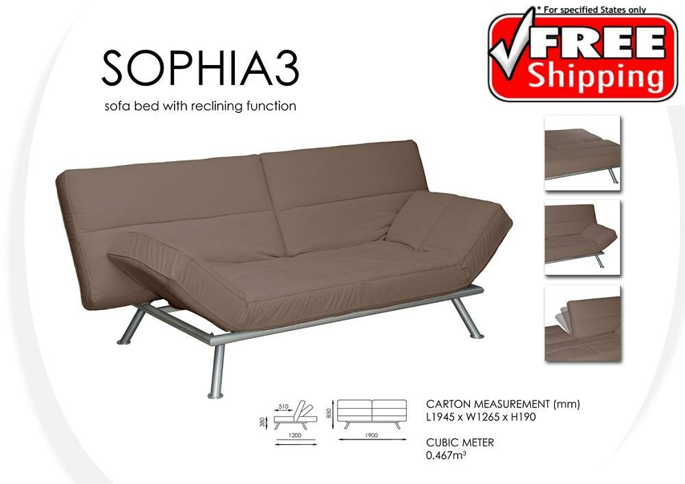 Review Multifunction Sofa Bed Convertible with Reclining Function ‹ › In 2018 - New convertible bed Minimalist