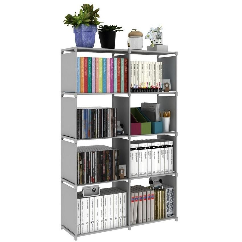 Multifunctional DIY Book Storage Shelf (2 Option Choose)