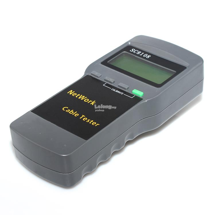 Multifunctional Network Cable Tester/Length Cable Tester Meter (S157)