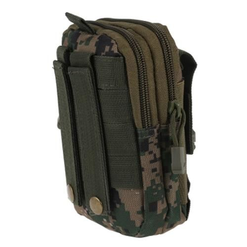 MULTIFUNCTIONAL OUTDOOR RUNNING TACTICAL WAIST BAG (DIGITAL JUNGLE CAMOUFLAGE)