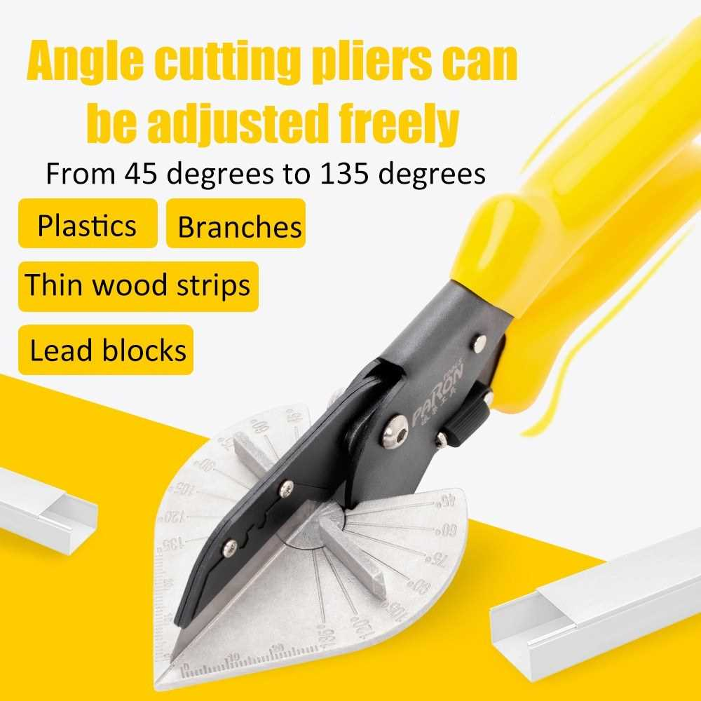Multifunctional Professional Cutting Pliers and Stripping Pliers Kit Angle Pli