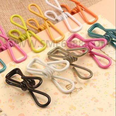 *Multipurpose 12pcs ^Metal Clothes Laundry Washing Hanger Clip