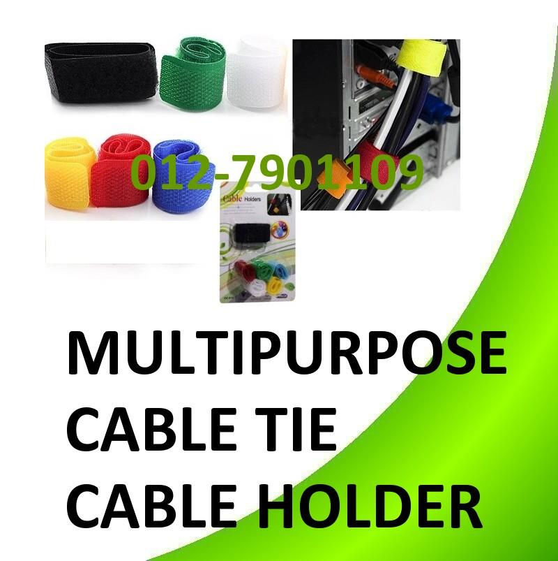 *Multipurpose Cable Holder Tie Computer Wire Cabling Tidy Management