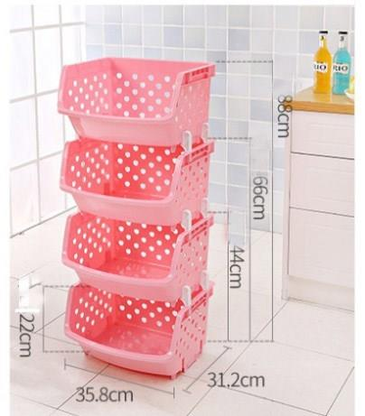 Multipurpose Kitchen 4layer basket
