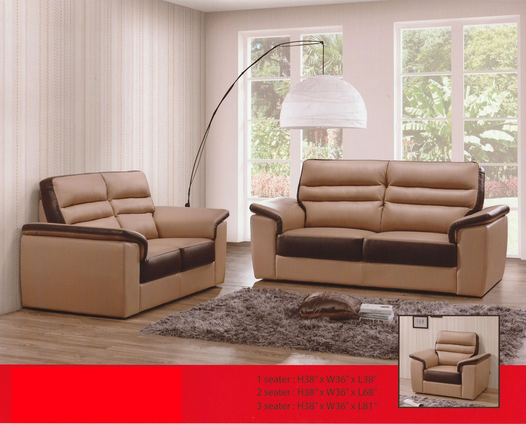Munchen 2 Seater Fully Leather Sofa (end 5/16/2021 12:00 AM)