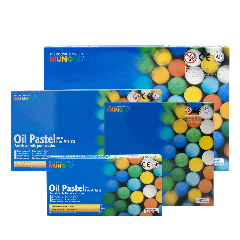 Mungyo Artist Oil Pastel Set of 36 (70MM Full Length Pastel)