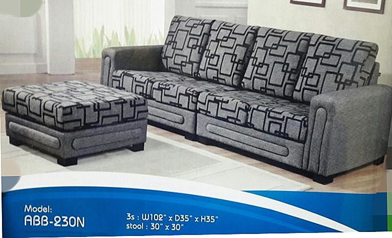 Murah Mewah Untuk Set Ruang Tamu L Shape Sofa Model 230