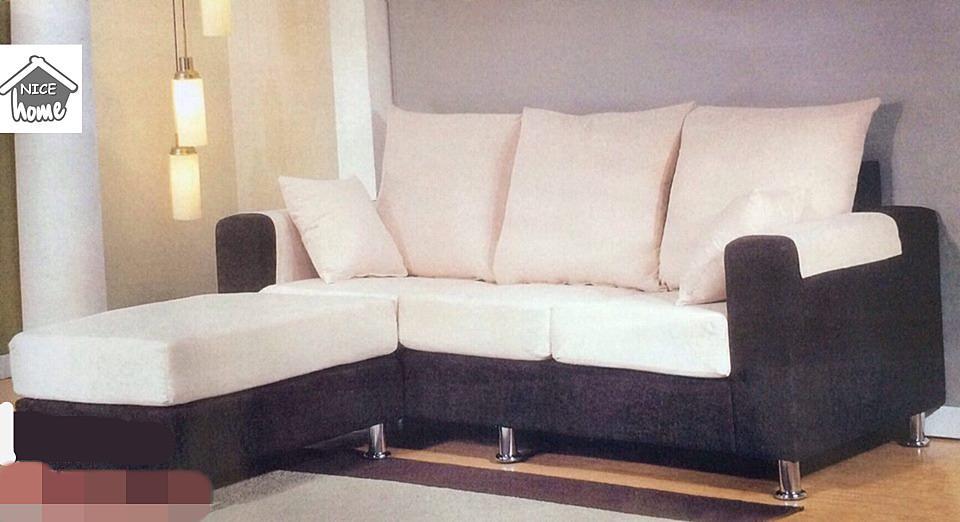 Murah Mewah Untuk Set Ruang Tamu L Shape Sofa Model M 1003