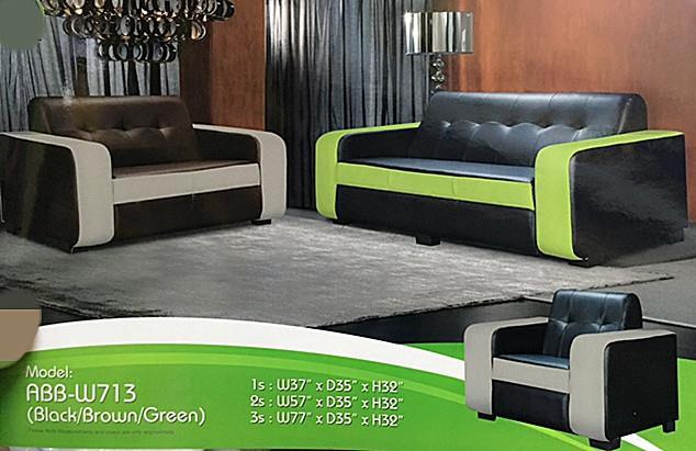 Murah Mewah Untuk Set Ruang Tamu Sofa 3 2 1 Seater Model W