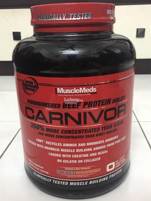 MuscleMeds Carnivor Beef Protein Isolate Muscle 4.4 Lbs Susu Protin