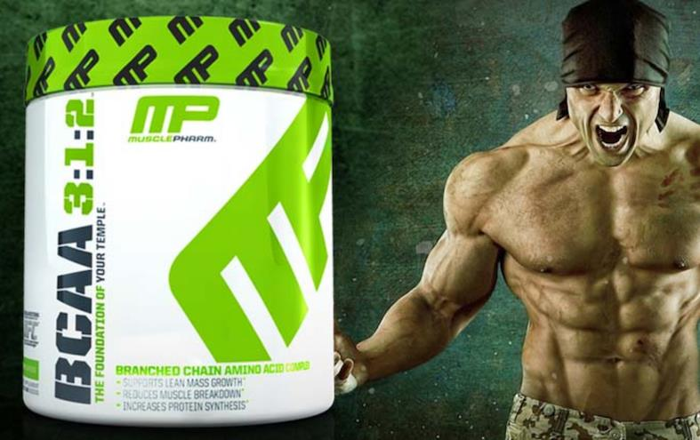 MusclePharm - BCAA 3:1:2 Powder (L-Leucine, L-Valine, L-Isoleucine)
