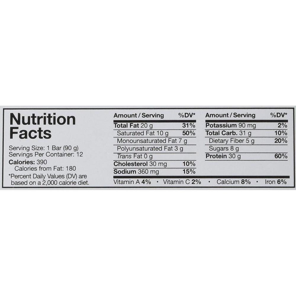 MusclePharm - Combat XL Bars - 12 Bars (1080 grams) - Peanut Butter Cup