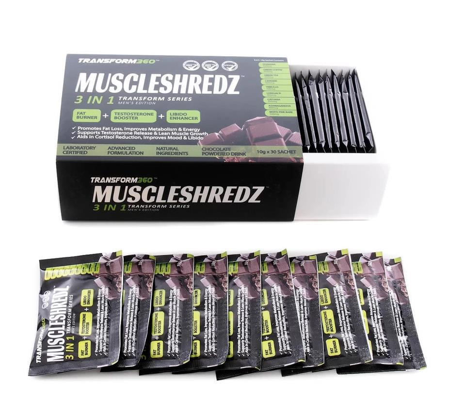 Muscleshreds All in One Supplement : Muscle & Fat Burner