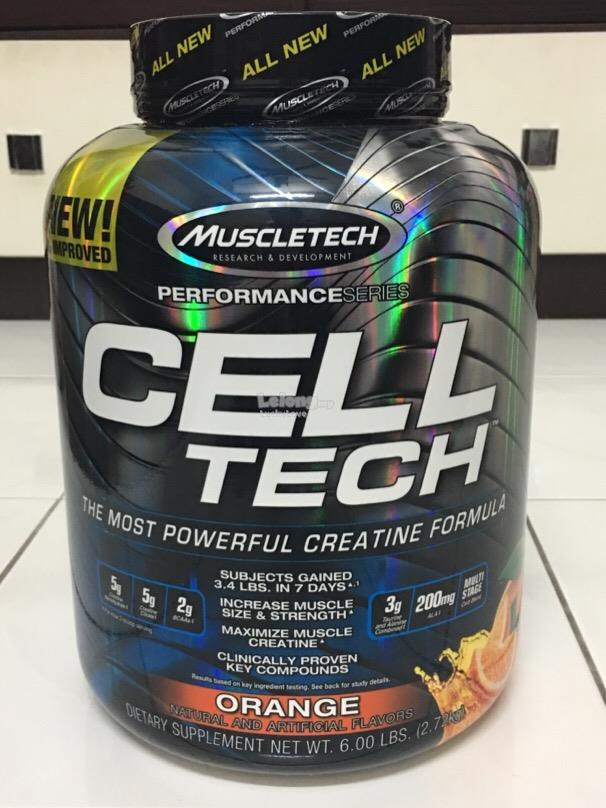 Muscletech Cell Tech Creatine 2.7kg Susu Protein Milk Muscle Celltech
