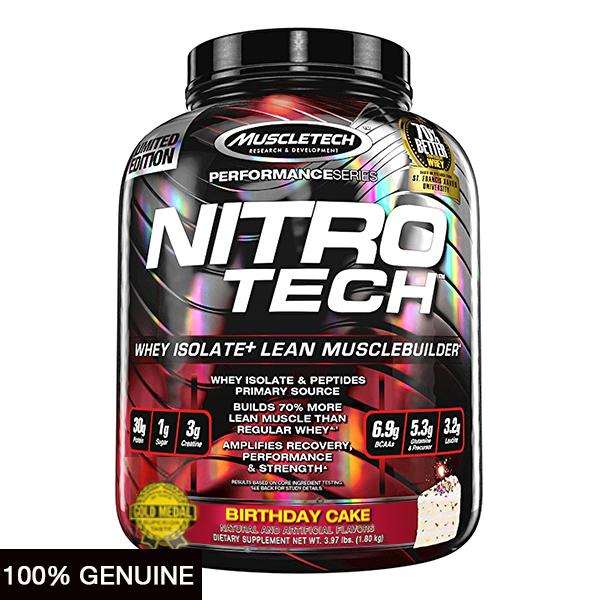 MuscleTech Nitro Tech 4lbs End 3 8 2021 1200 AM
