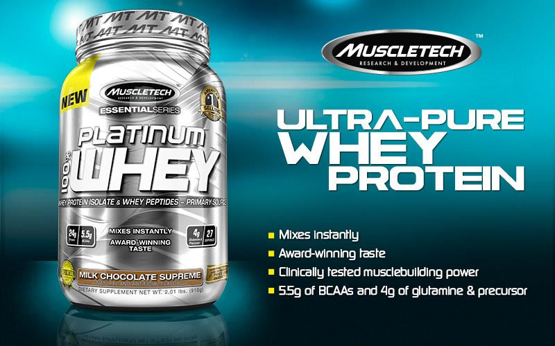 Top 10 Whey Protein 2020.Muscletech Platinum Whey Protein 2lbs Amino Bcaa Susu Gym Otot 2lbs