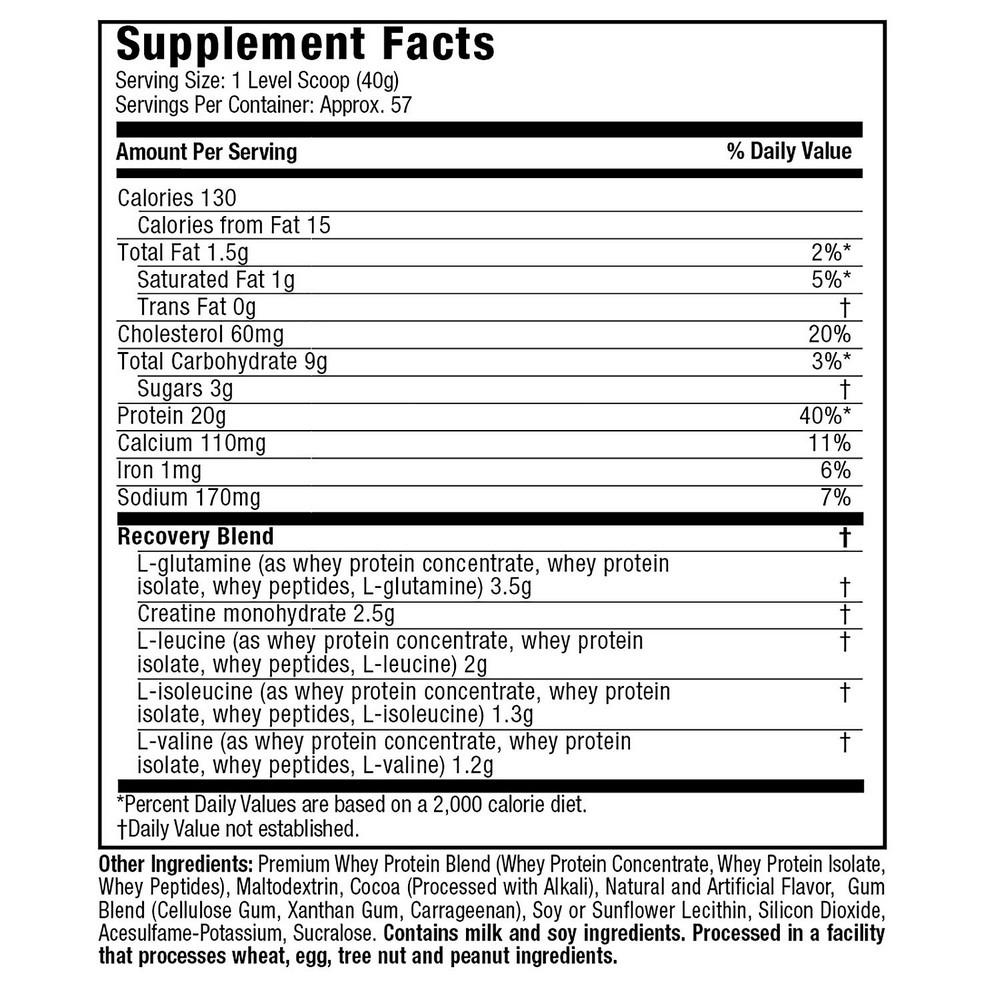 MuscleTech - Premium 100% Whey Protein Plus - 5 lbs - Triple Chocolate