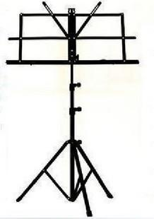Music Accessories - Folding Music Stand come with Carrying Bag