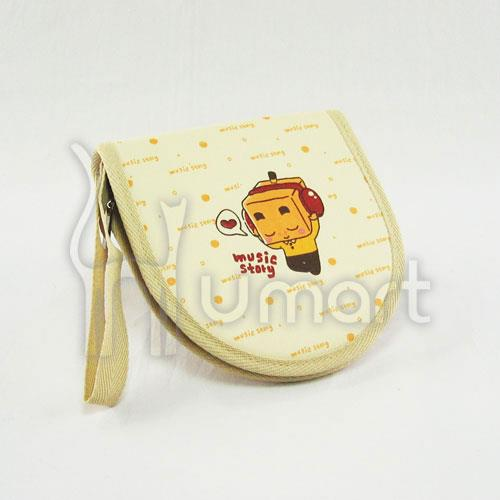 Music Boxman Car Zipper CD folder / CD bag 100% Cotton