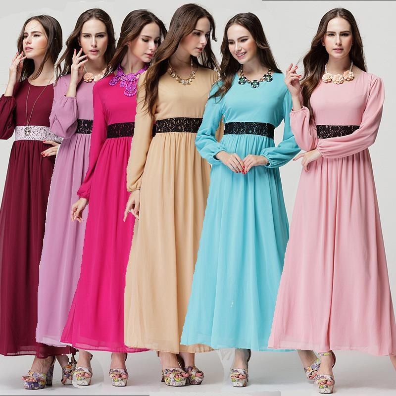 Maxi dress muslimah malaysia flight