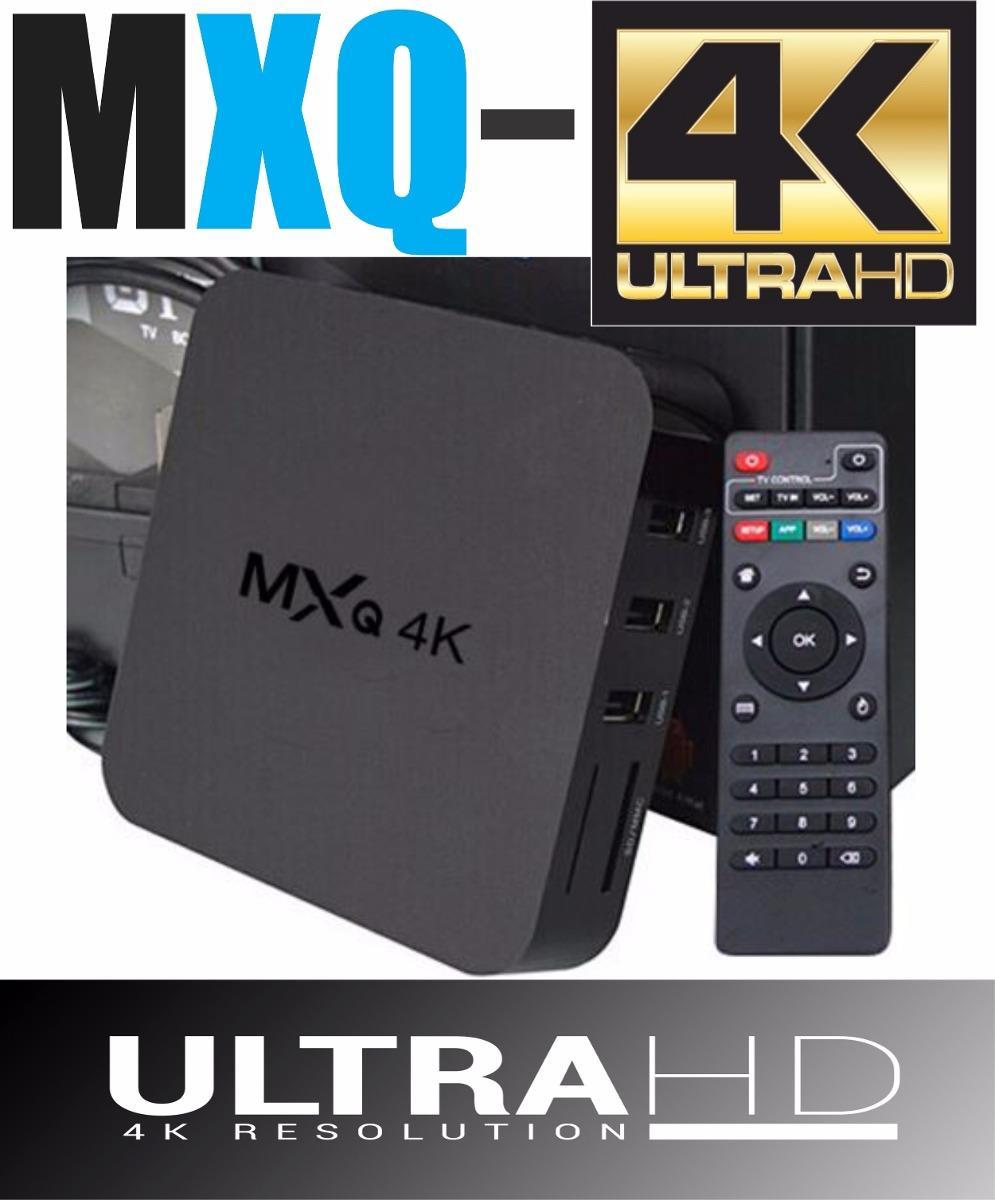 MXQ-4K Android 7.1 TVbox TV Box + 20 (end 3/23/2020 8:40 PM