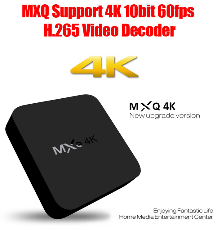 MXQ 4K TV Box RK3229 Android 7.1 Quad-core 2.4GHz WiFi 1GB 8GB Smart M..
