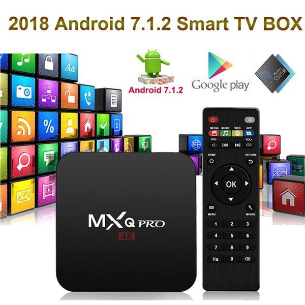 MXQ PRO Quad core S905W 4K Android 7 1 Media Player Smart TV BOX