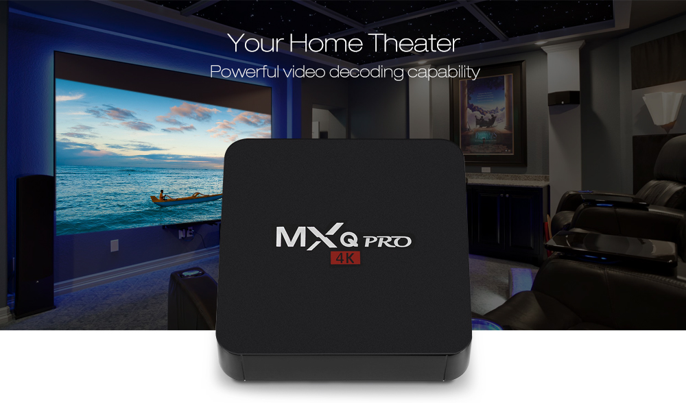 MXQ PRO RK3229 4K HD TV Box WiFi Android Media Player