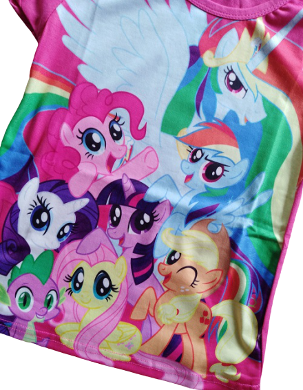 My Pony the magic begins shorts sleeve t-shirts