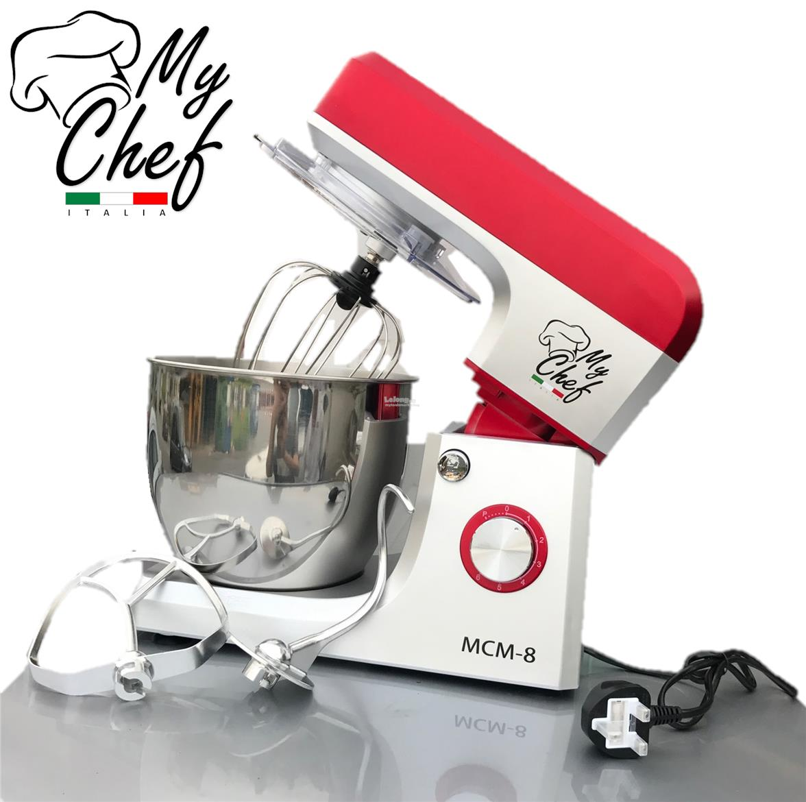 Marketing Exhibition Stand Mixer : Mychef italia mcm l w stand mi end pm