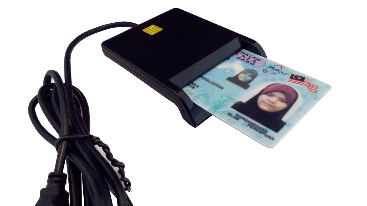 Mykad Reader/Smart Card Reader(USB)+Mycard Smart Card Reader Software
