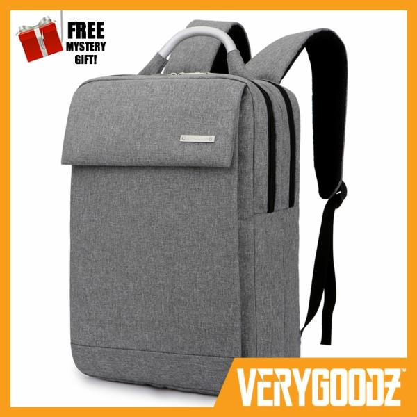 6174673a26e8 MYLO® Oxford Fabric Slim Laptop Backpack Water Resistant Business Bag