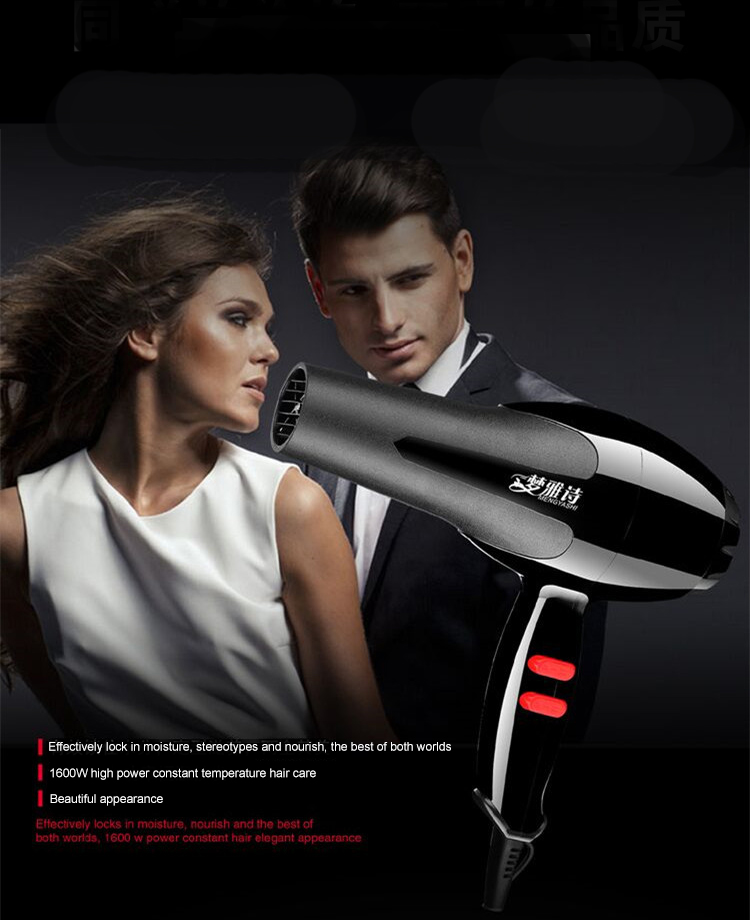 MYS-2000 Design Silent High-power Household Hair Dryer Hair Styling