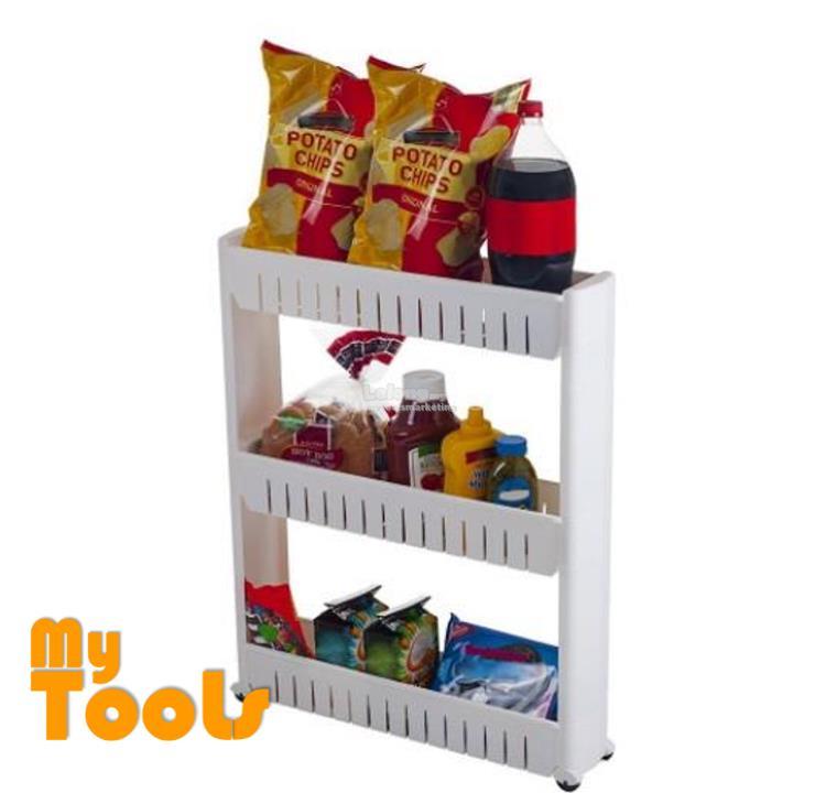 Mytools 3 / 4 Tiers Space Saver Slim Slide Storage Kitchen Rack