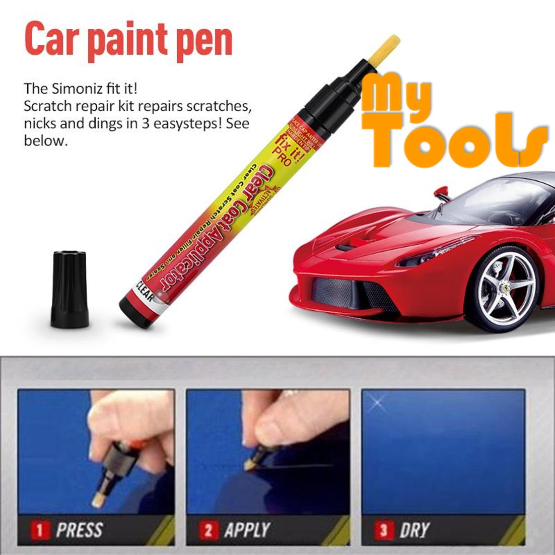 Mytools Car Scratch Removal Pen As End 3 30 2021 12 00 Am