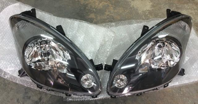 Myvi SE 2 Head Lamp Black Original 2pc