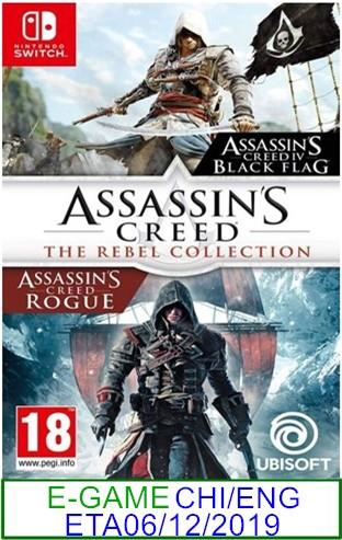 N. Switch PREORDER Assassin's Creed The Rebel Collection★Brand N..