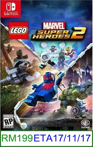 N.Switch PREORDER LEGO Marvel Super Heroes 2 ★Brand New & Sealed..