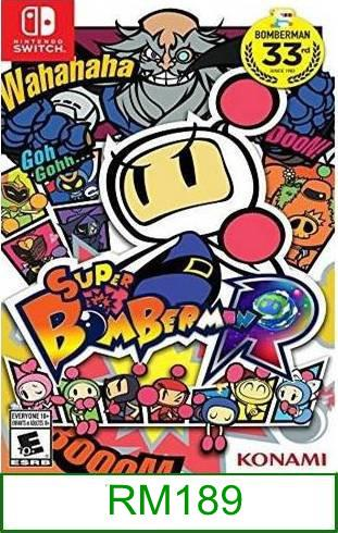 N.Switch Super Bomberman R ★Brand New & Sealed★