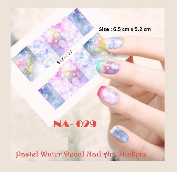 Na 0029 Pastel Water Decal Nail Art End 10242019 515 Am