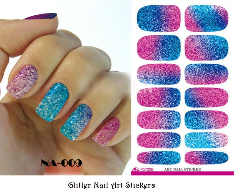 NA-009 Glitter Water Decal Nail Art (end 9/17/2018 4:15 AM)