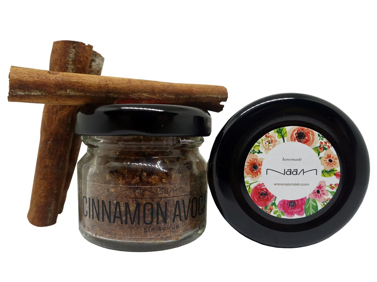 Naam Cinnamon Avocado Lip + Naam Arabica Coffee Body Scrub | Homemade