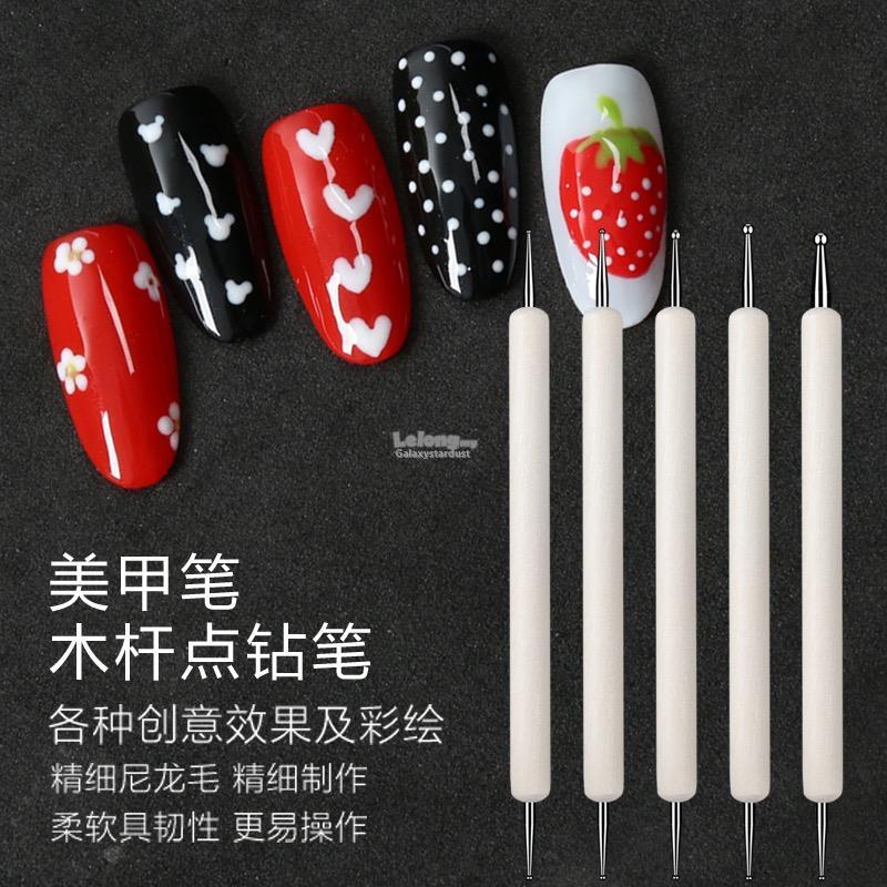 Nail Art Dotting Tool 3d Acrylic Gel End 8142019 415 Pm